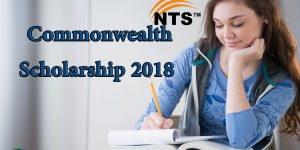 Commonwealth Scholarship 2018 NTS Application Form