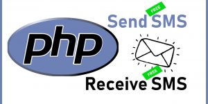 Send or Receive Free SMS in PHP