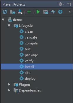 Default Maven Plugin In IntelliJ