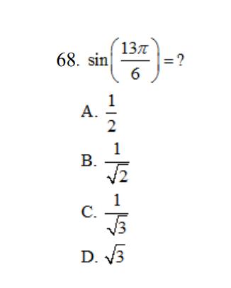 68 Question