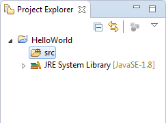 Scr in Project Explorer