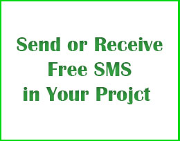 Send FREE SMS in Java - Receive FREE SMS in Java